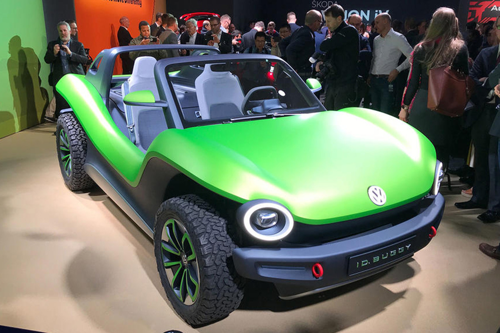 日内瓦车展实拍大众ID Buggy电动概念车