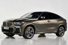 轿跑SUV鼻祖 全新一代宝马X6官图发布