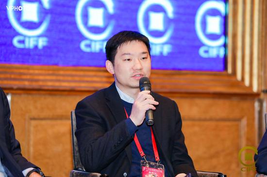 袁东阳出席第十六届中国国际金融论坛