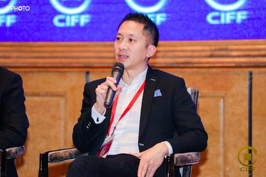 朱沛宗出席第十六届中国国际金融论坛