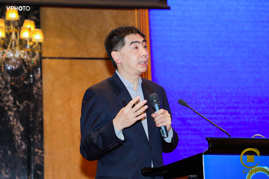 张欣出席第十六届中国国际金融论坛