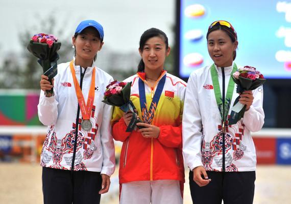 陈倩是仁川亚运会冠军