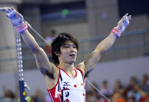 内村航平领衔的日本是中国最大对手