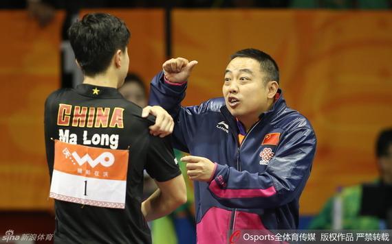国乒主教练刘国梁