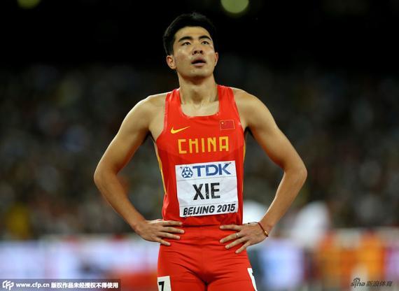 谢文骏夺得60米栏冠军
