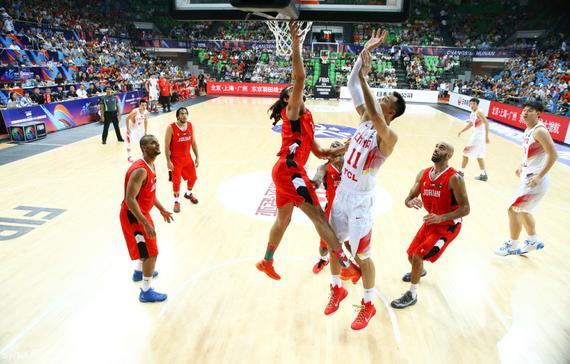 中国男篮VS约旦男篮