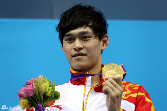 孙杨依然是中国游泳队的绝对核心