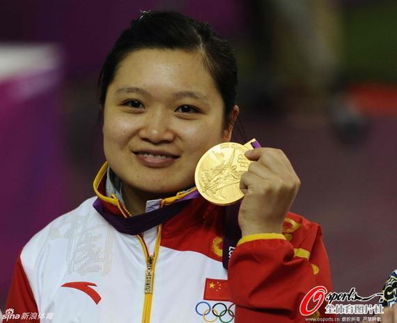 郭文珺是这个项目北京和伦敦奥运会的冠军
