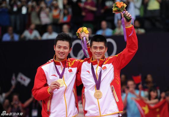 风云组合夺得伦敦奥运会金牌