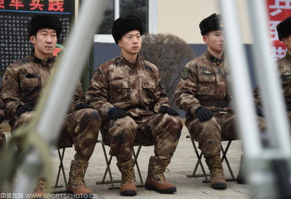 国乒目前正在丹东军训