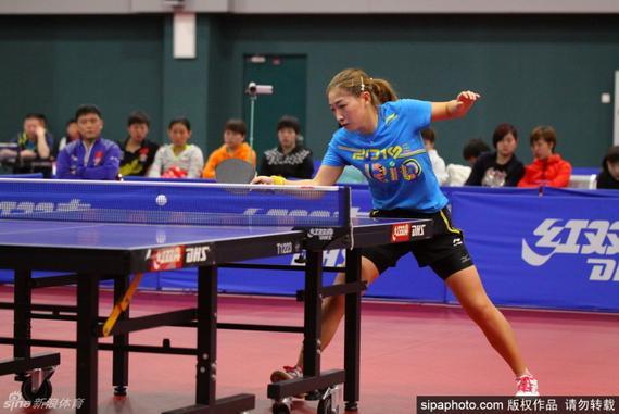 刘诗雯对奥运名额非常渴望