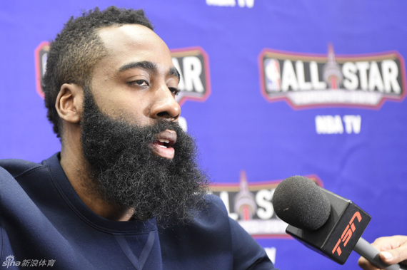 Harden not think there will be a big deal the Rockets went to China to investigate Zhou Qi