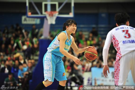 北京女篮进攻