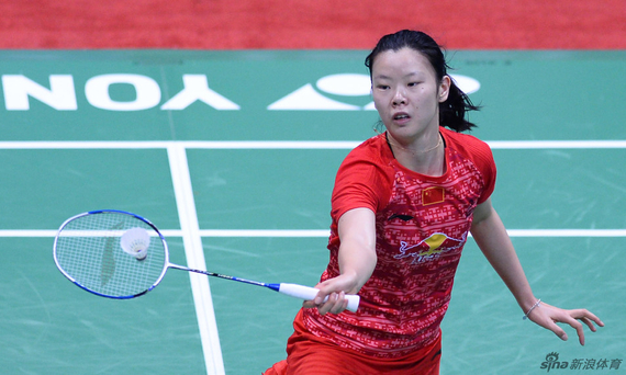 倫敦奧運會女單冠軍李雪芮