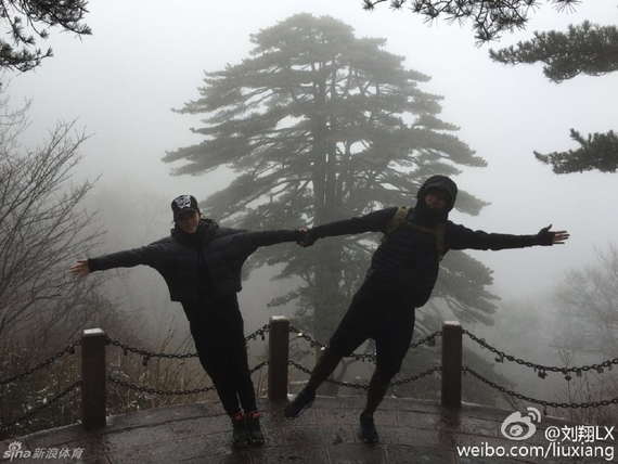 刘翔和女友吴莎