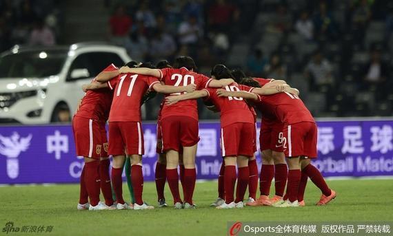 中国女足奥运热身赛击败哥斯达黎加