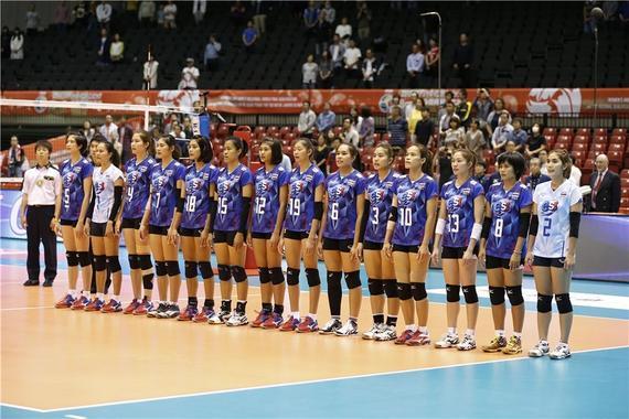 泰国女排黄金一代再度无缘奥运