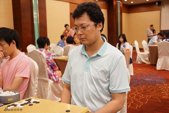 国家专业围棋领甲士物胡煜清(材料图)