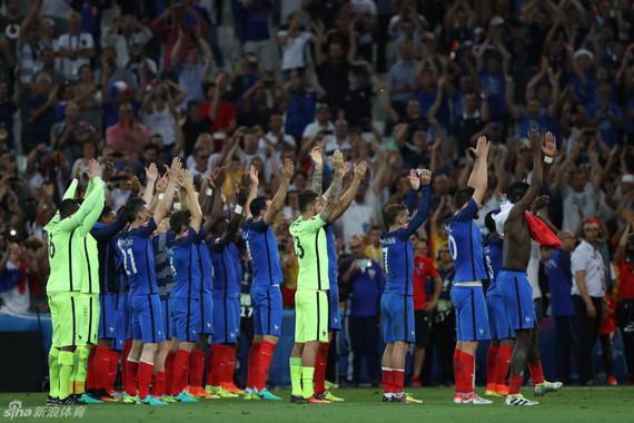 法国进军决赛