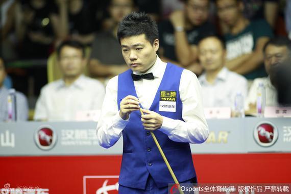 丁俊晖获得6红球世锦赛首胜