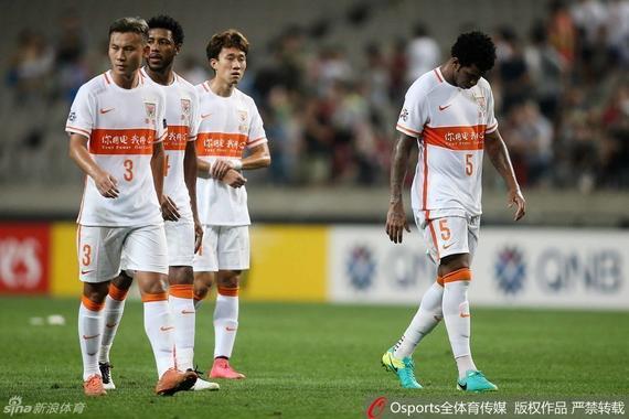鲁能1-3不敌首尔FC