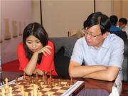 中国国际象棋混双赛 叶江川搭档居文君获亚军