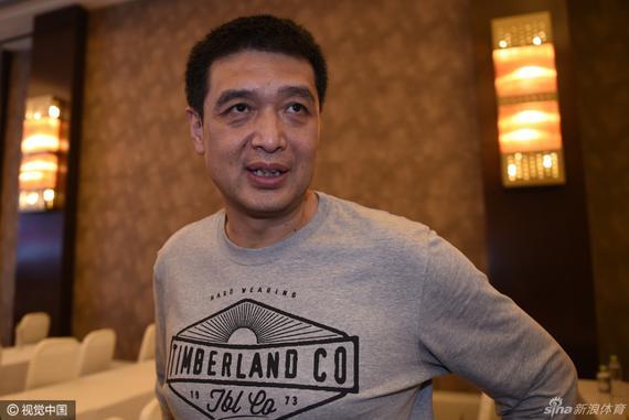 北京队主帅闵鹿蕾