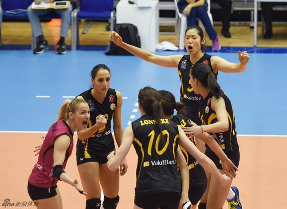 朱婷参加土耳其女排联赛