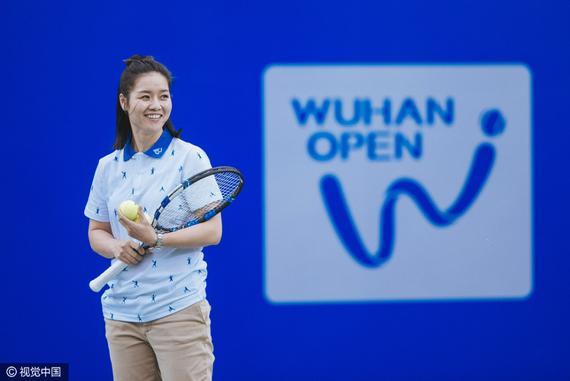 李娜代言武汉网球公开赛