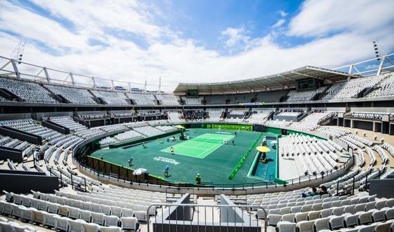 里约奥运会巴拉赛区场馆完工