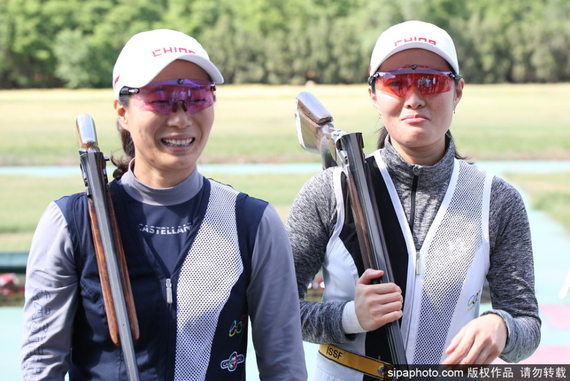魏宁魏萌姐妹获奥运资格