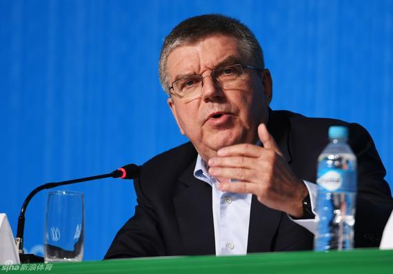 国际奥委会主席巴赫