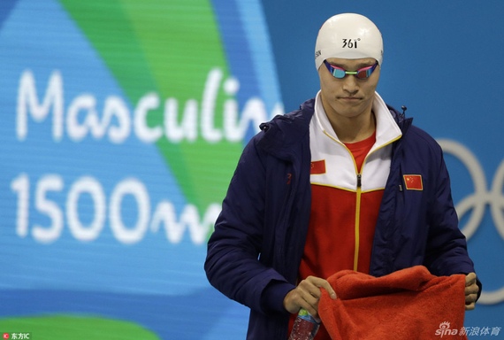 Sun Yang: 200 since the fever can not swim out of state today