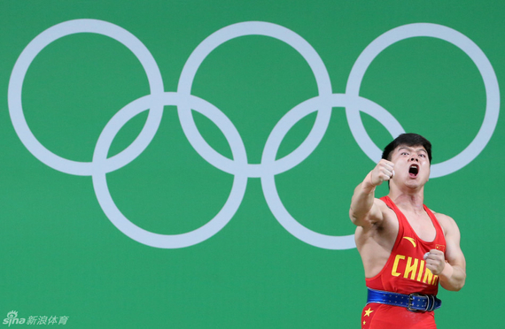 龙清泉第二次获得奥运会冠军