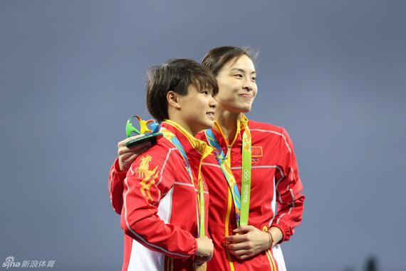 施廷懋首夺奥运金牌
