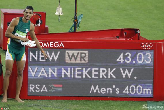 范尼凯克打破400米世界纪录