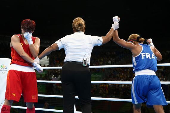 中国拳击冲金未果