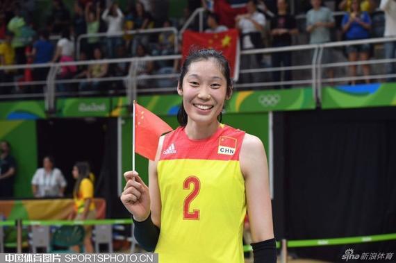 朱婷是女排夺冠最大功臣之一