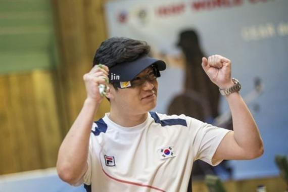 秦钟午也是国家射击队在手枪名目上最首要的敌手
