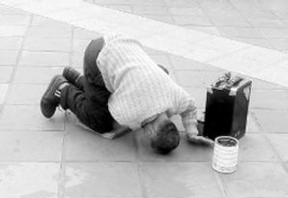 厦门99%乞讨者为职业乞丐