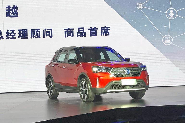 东风启辰T60正式发布 预售9-12万元