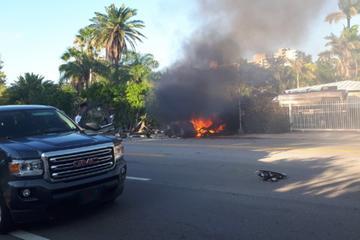 特斯拉再出致命车祸 两男子被困车内身亡