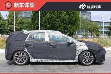 高尔夫GTI挑战者 曝现代全新i30 N谍照