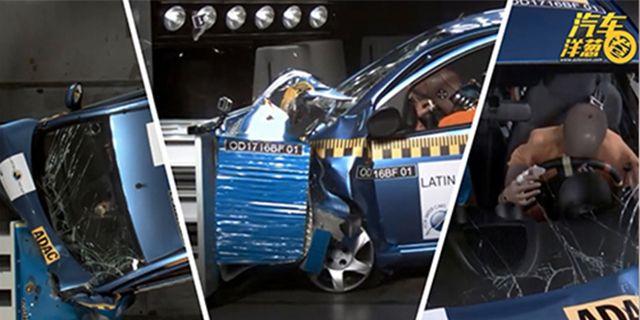 视频:还能买?比亚迪国外碰撞测试零分