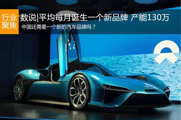 平均每月诞生一个新汽车品牌 产能130万
