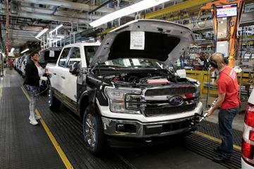 福特重组数家美国工厂 加强SUV和皮卡生产