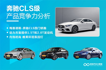 【新浪汽车大数据】上市半年后,奔驰CLS的市场竞争力如何?