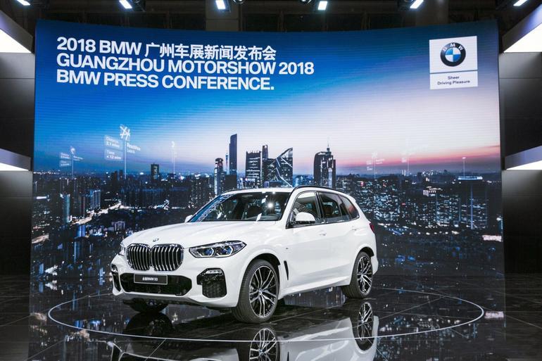 2018广州车展:宝马全新一代X5实拍解析