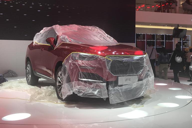 2018北京车展探馆:全新哈弗F5曝光