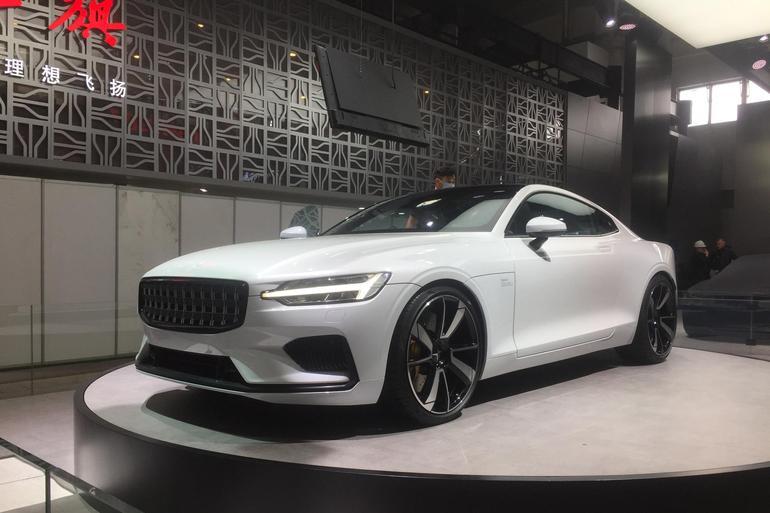2018北京车展探馆: Polestar1实车亮相